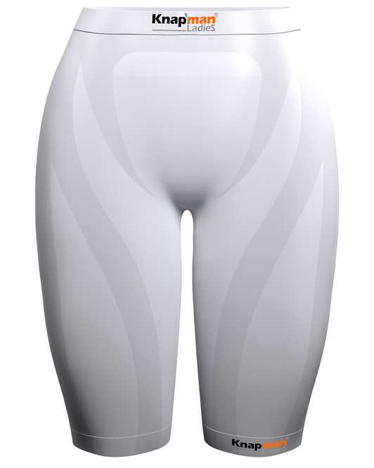 Knapman Ladies Compression Short 45% white