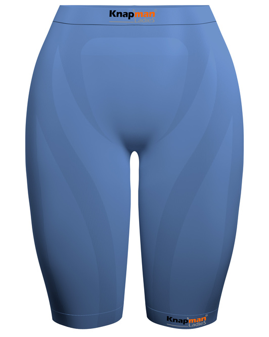 Knapman Ladies Compression Short 45% light blue
