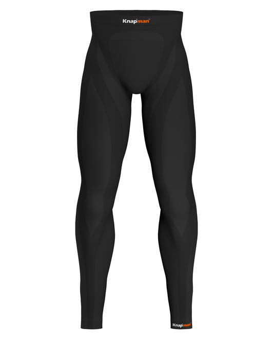 Knapman Men's Compression Tights Long 45% black