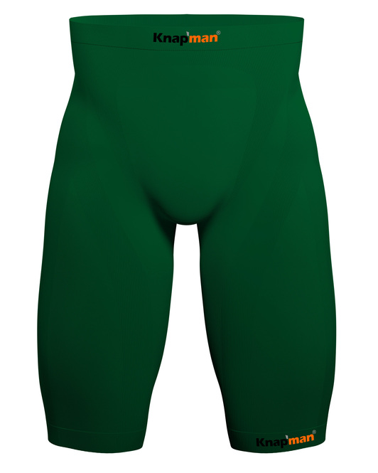 Knapman Mens Compression Shorts 45% green