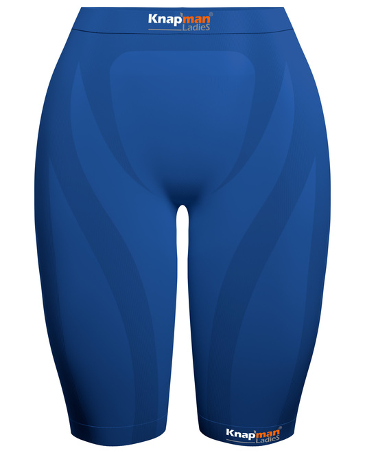 Knapman Ladies Compression Short 45% royal blue