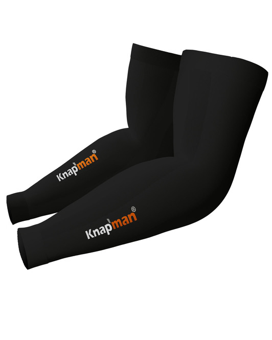 Knapman Zoned Compression Arm Sleeves 45% black
