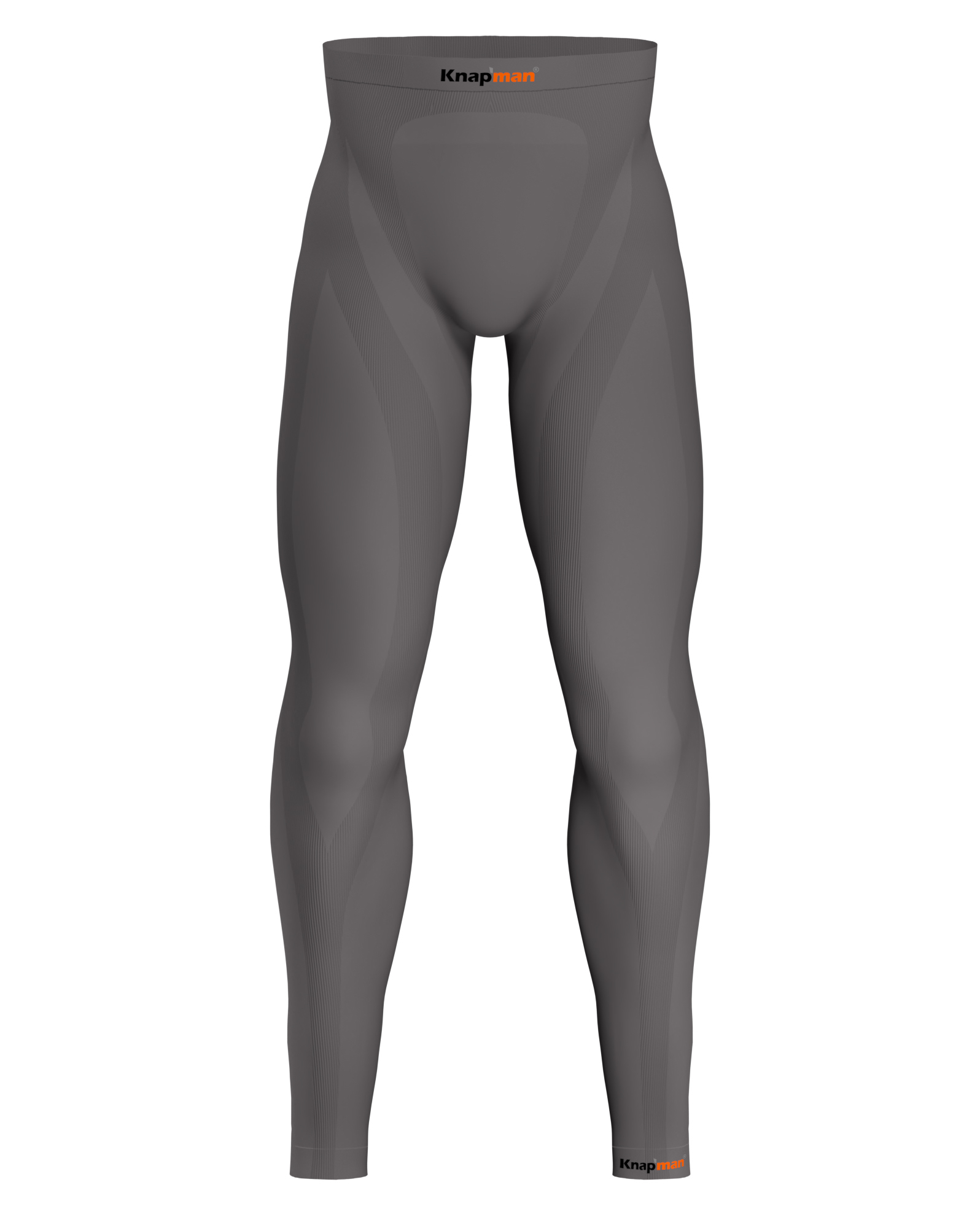 Knapman Men's Compression Tights Long 45% grey