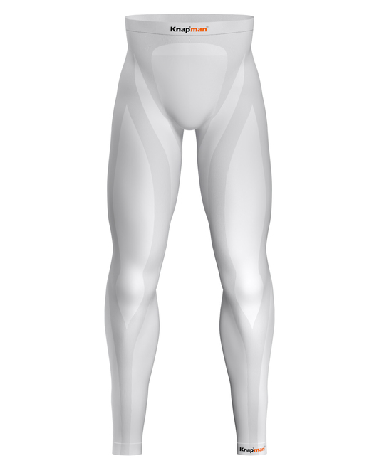 Knapman Zoned Compression Pants Long 25% White