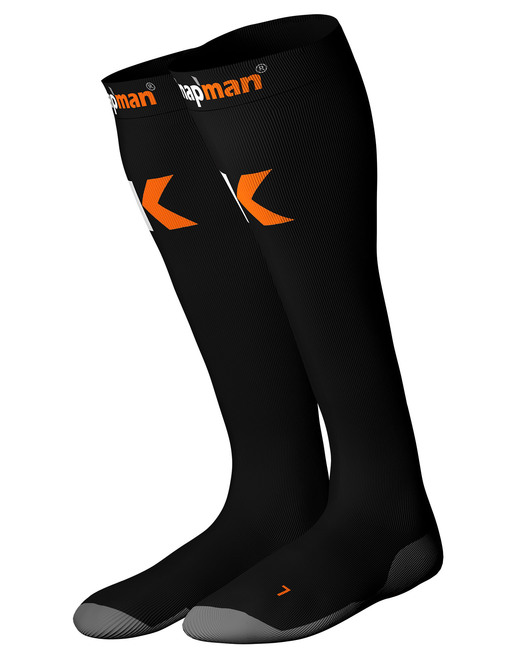 Knapman Ultra Strong Compression Socks Black