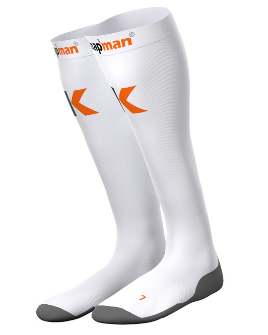 Knapman Ultra Strong Compression Socks White