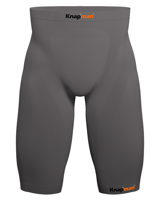 Knapman Mens Compression Shorts 25% grey