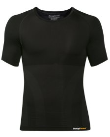Knapman Men's Compression Shirt Crew-Neck black